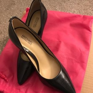 Michael Kors Blue Patent Shoes
